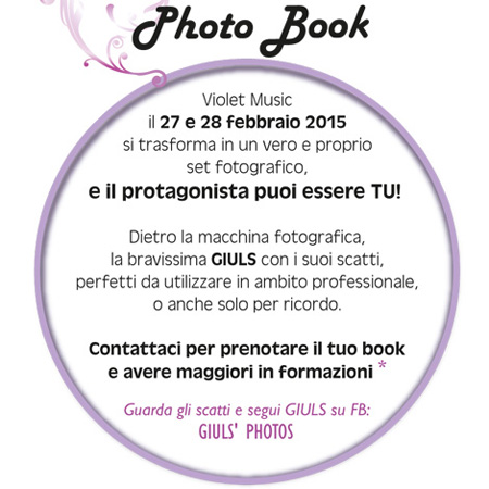 Photo book VIOLET MUSIC